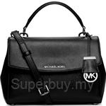 Michael Kors Ava Small Saffiano Leather Crossbody Satchel - 30T5GAVS2L