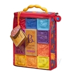 BToys One Two Squeeze Soft Blocks (6 Months - 3 Years)