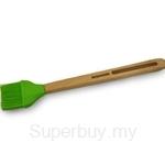 Fackelmann FSC Large Silicone Brush 29cm Beech Wooden - 31059