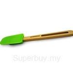 Fackelmann FSC Small Silicone Spoon 24.5cm Beech Wooden - 31062
