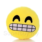 Happy Hoops 30cm Oh Dear Teeth Out Funny Face Emoji Cushion