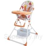 Picardo Summer High Chair Orange - BC-PHC-S