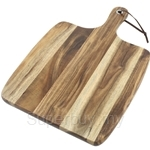 Fackelmann Acacia Wooden Wood Cutting Board with Metal Hanging Hole - 5273381