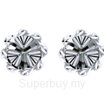 Lazo Diamond 9KW White Gold Earring - 8E2287