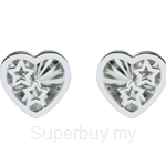Lazo Diamond 9KW White Gold Earring - 8E2377