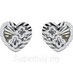 Lazo Diamond 9KW White Gold Earring - 8E2378