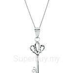 Lazo Diamond 9KW White Gold Pendant without Chain - 8P2040
