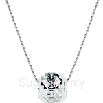 Lazo Diamond 9KW White Gold Pendant without Chain - 8P2077