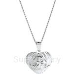 Lazo Diamond 9KW White Gold Pendant without Chain - 8P2114