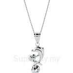 Lazo Diamond 9KW White Gold Pendant without Chain - 8P2155