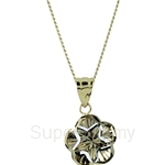 Lazo Diamond 9KM White Gold Pendant without Chain - 8P2204