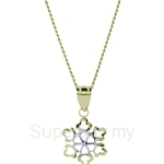 Lazo Diamond 9KM Gold Pendant without Chain - 8P2210
