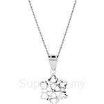 Lazo Diamond 9KW White Gold Pendant without Chain - 8P2210