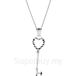Lazo Diamond 9KW White Gold Pendant without Chain - 8P2212