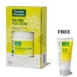 Thursday Plantation Tea Tree Face Cream 65g Free Face Cleanser 75ml