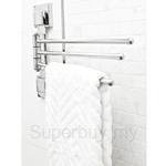 SMARTLOC Triple Swivel Towel Bar (1pc) - SL-12031