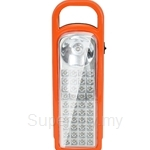 HETCH Battery-operated LED Light 40 LED + 0.5 Torch LED Light (Orange+Black) - BOL-1120-HC