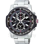 Seiko SNAD15P1 Gents Alarm Chronograph Watch