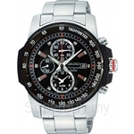 Seiko SNAD17P1 Gents Alarm Chronograph Watch