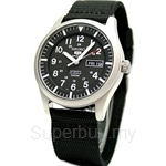 Seiko 5 Sports SNZG15K1 Gents Military Automatic Watch