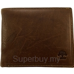 Country Roots CA9427 Side-flip Leather Wallet Brown