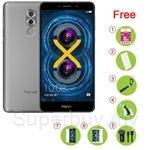 Honor 6X [4GB+64GB] FREE 16GB Card + Power Bank + Selfie Stick + Car Holder + Car Charger Kit + Glass + Case