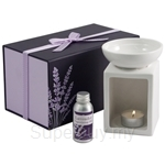 Ashleigh & Burwood Lavender - Oil Burner Gift Set - 820g
