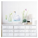 IR Animal Wall Deco Sticker - Swan (30cmx60cm)