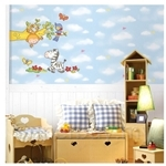 IR Kid's Room Wall Deco Sticker - Safari (32cmx60cm)