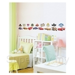 IR Cars Wall Deco Sticker (57cmx70cm)