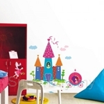 IR Castle Wall Deco Sticker (70cmx100cm)
