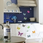 IR Butterfly 2 Wall Deco Sticker (50cmx70cm)