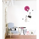 IR Dress Room Wall Deco Sticker (50cmx70cm)