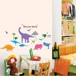 IR Dinosaur World Wall Deco Sticker (50cmx70cm)