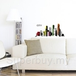 IR CITY Wall Deco Sticker (35cm x 50cm)