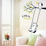 IR Life is Sweet Wall Deco Sticker (60cm X 32cm)