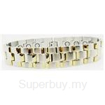 Criss Magnetic Bracelet for Men - SSM-8264-G