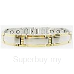 Criss Magnetic Bracelet for Men - SSM-8038-G