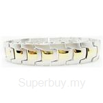Criss Magnetic Bracelet for Men - SSM-8142-G