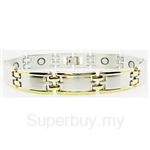Criss Magnetic Bracelet for Men - SSM-8257-G