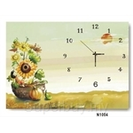hOurHome Modern Art Paintings & Clock N1004