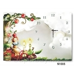 hOurHome Modern Art Paintings & Clock N1005