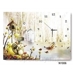 hOurHome Modern Art Paintings & Clock N1006