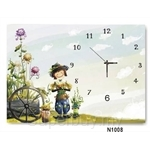 hOurHome Modern Art Paintings & Clock N1008