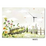 hOurHome Modern Art Paintings & Clock N1013