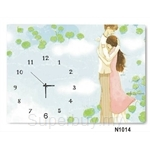 hOurHome Modern Art Paintings & Clock N1014