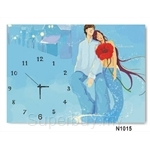 hOurHome Modern Art Paintings & Clock N1015