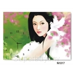 hOurHome Modern Art Paintings & Clock N1017