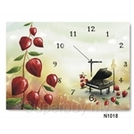 hOurHome Modern Art Paintings & Clock N1018