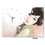 hOurHome Modern Art Paintings & Clock N1020